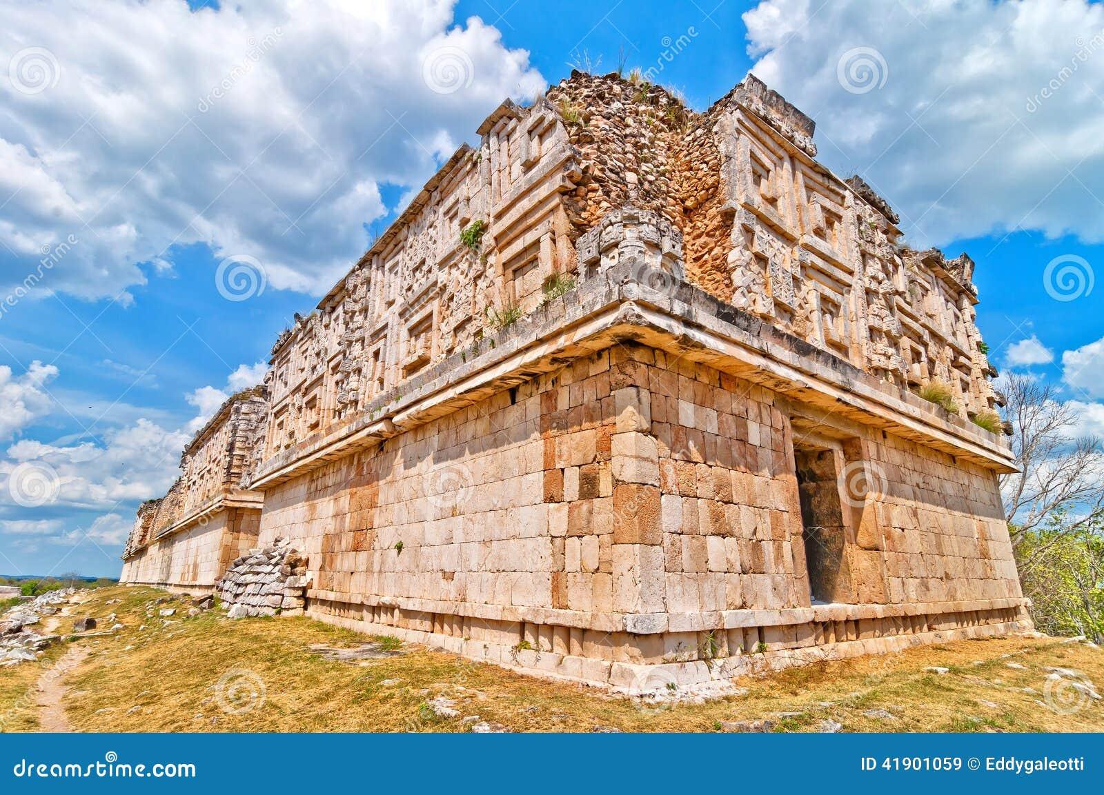Ciudad maya antigua de Uxmal, Yucatán, México