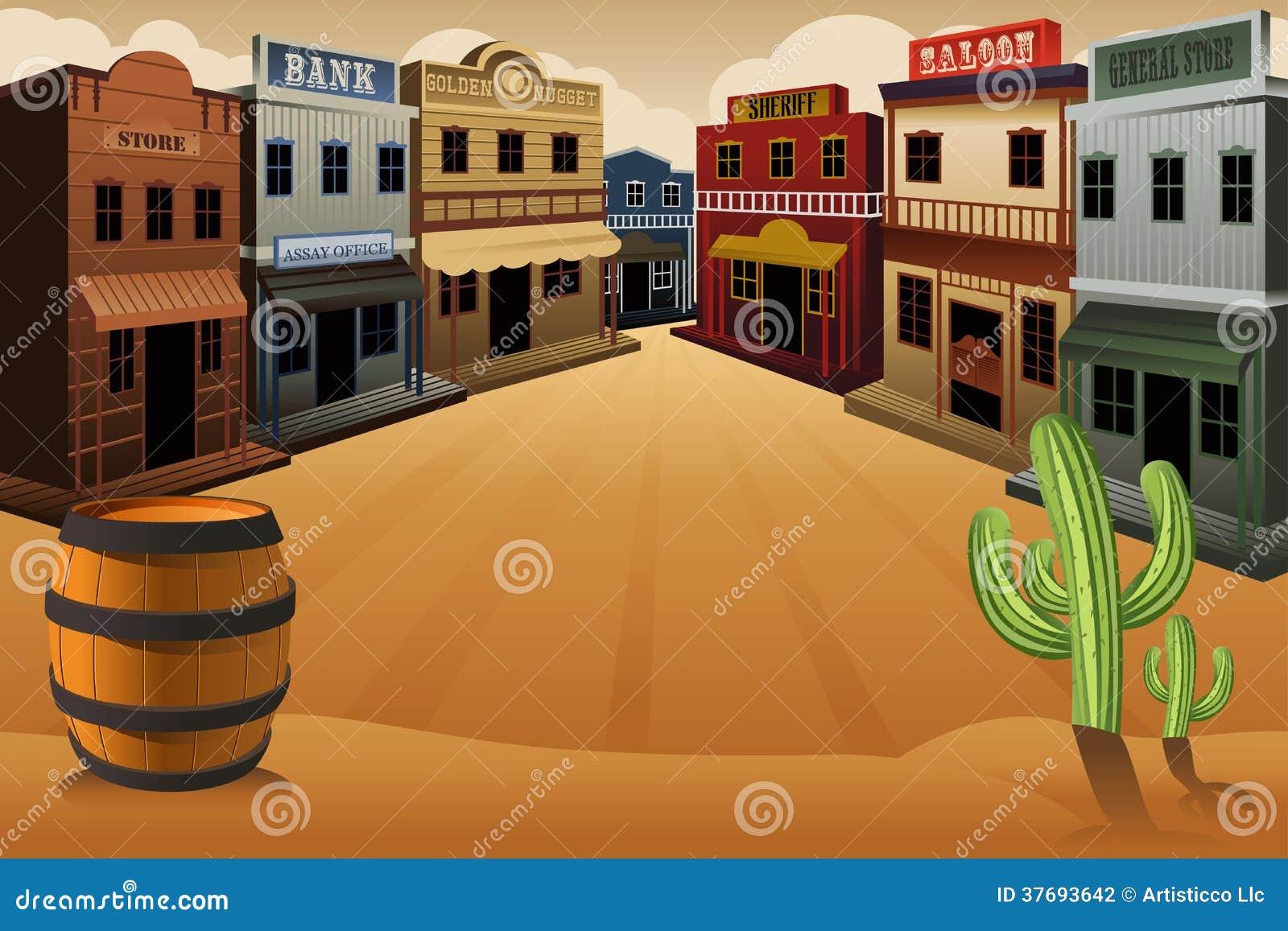 Ciudad occidental vieja