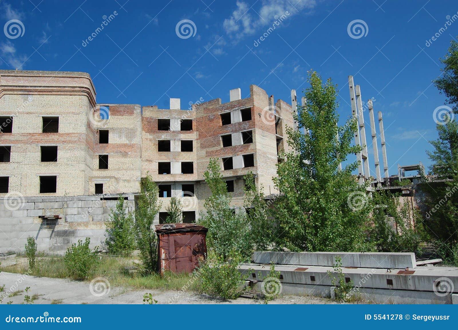 Ciudad perdida. Área de Chernobyl.