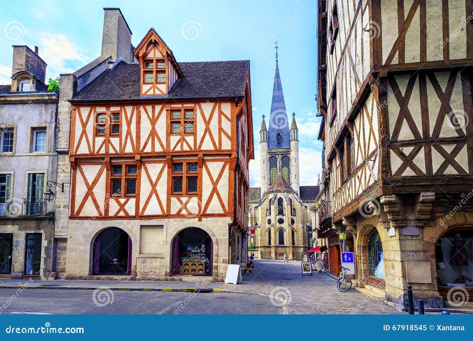 Ciudad vieja de Dijon, Borgoña, Francia