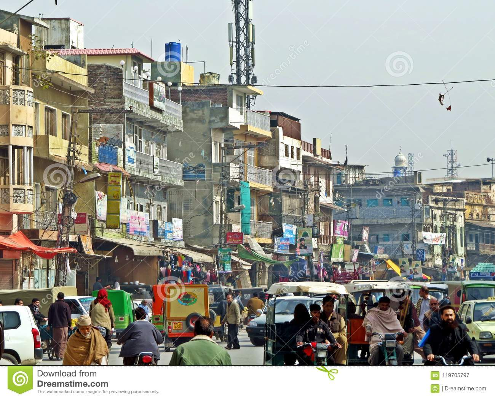 Ciudad vieja de Rawalpindi, Paquistán