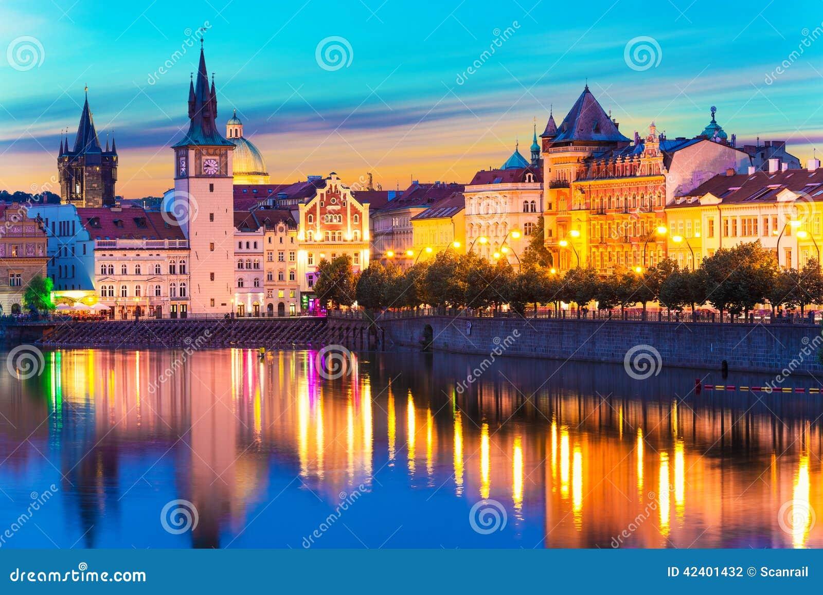 Ciudad vieja en Praga, República Checa