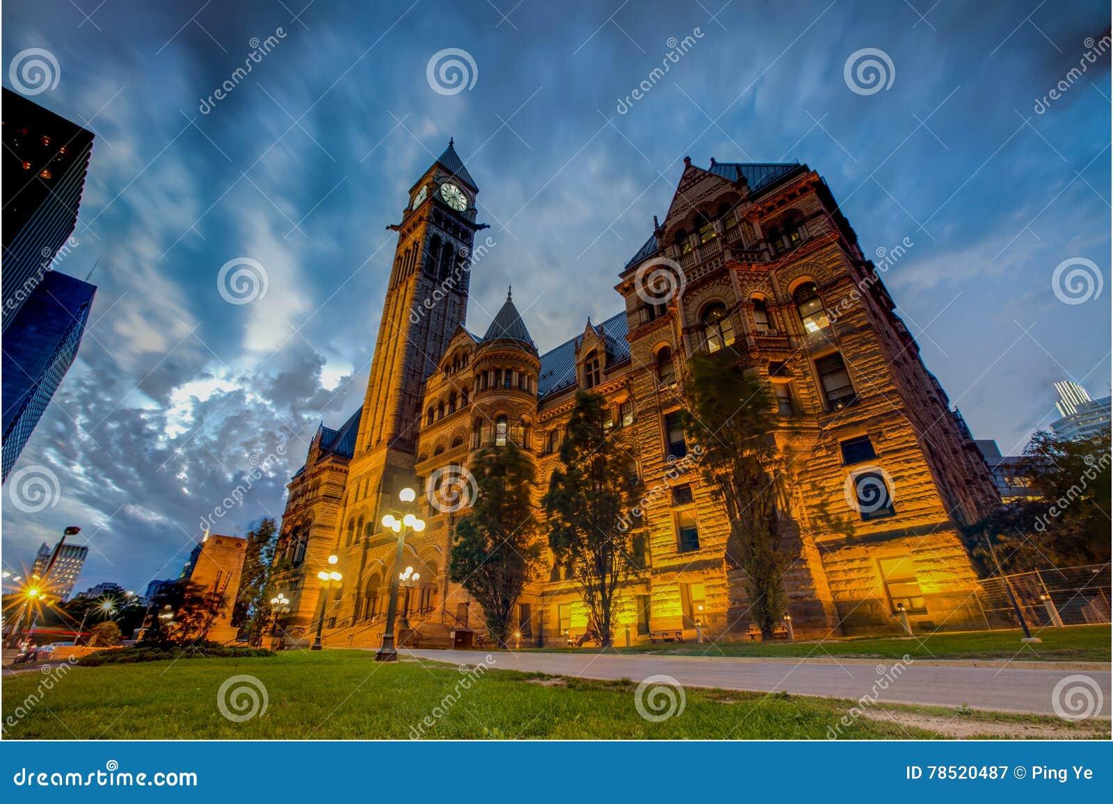 Ciudad vieja Hall& x28; Toronto& x29;