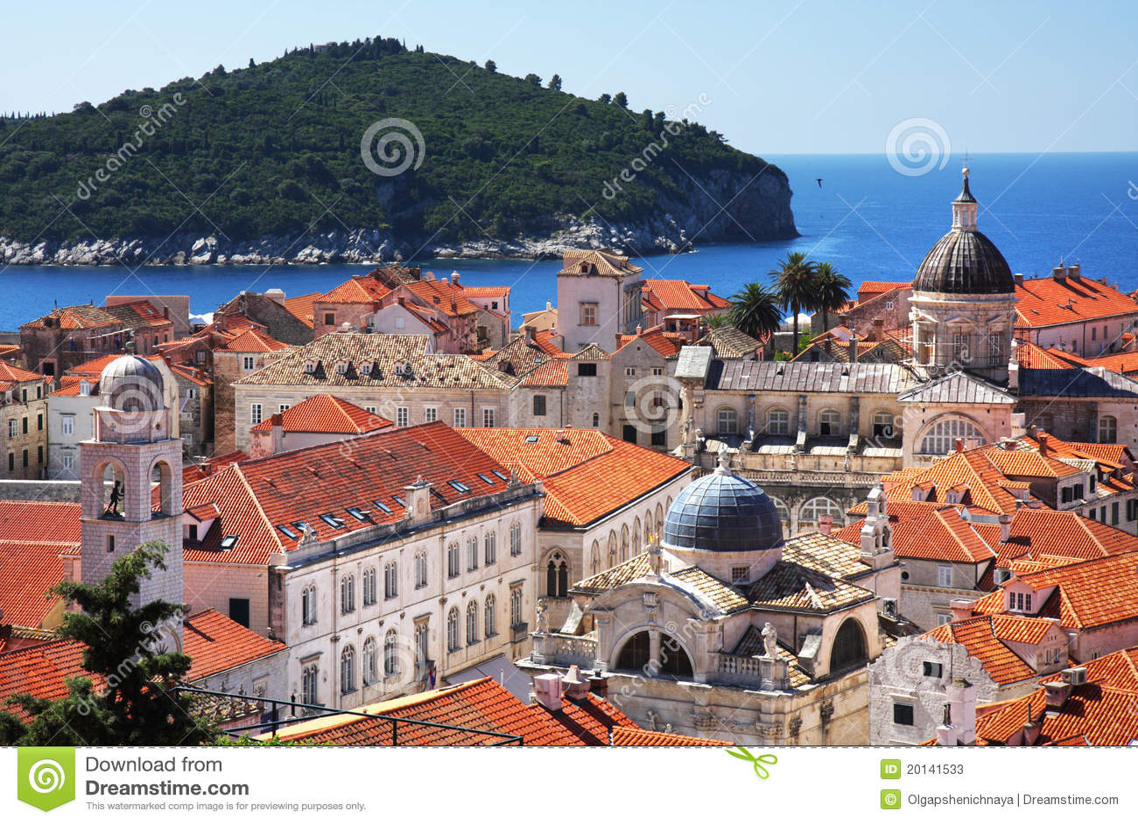 Ciudad vieja y Lokrum de Dubrovnik