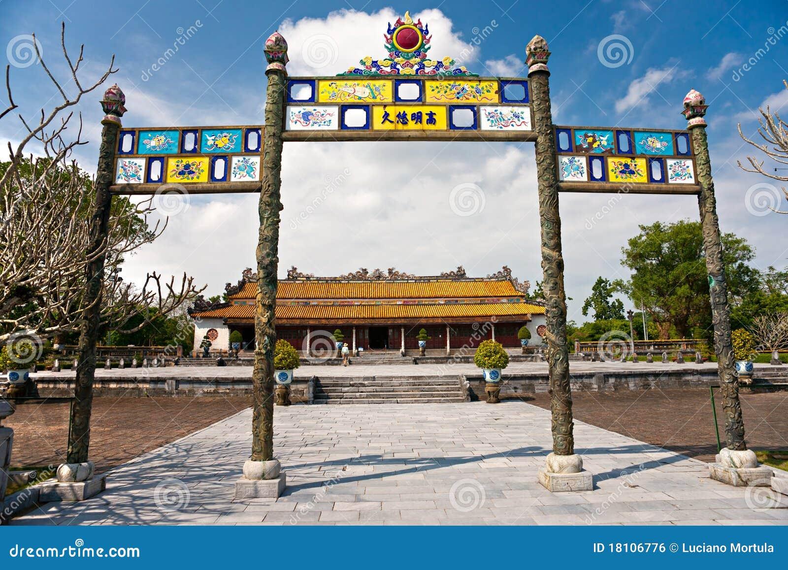 Ciudadela, tonalidad, Vietnam.