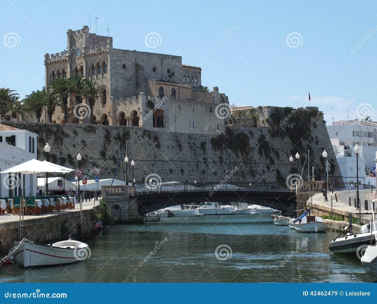 Ciutadella-Hafen