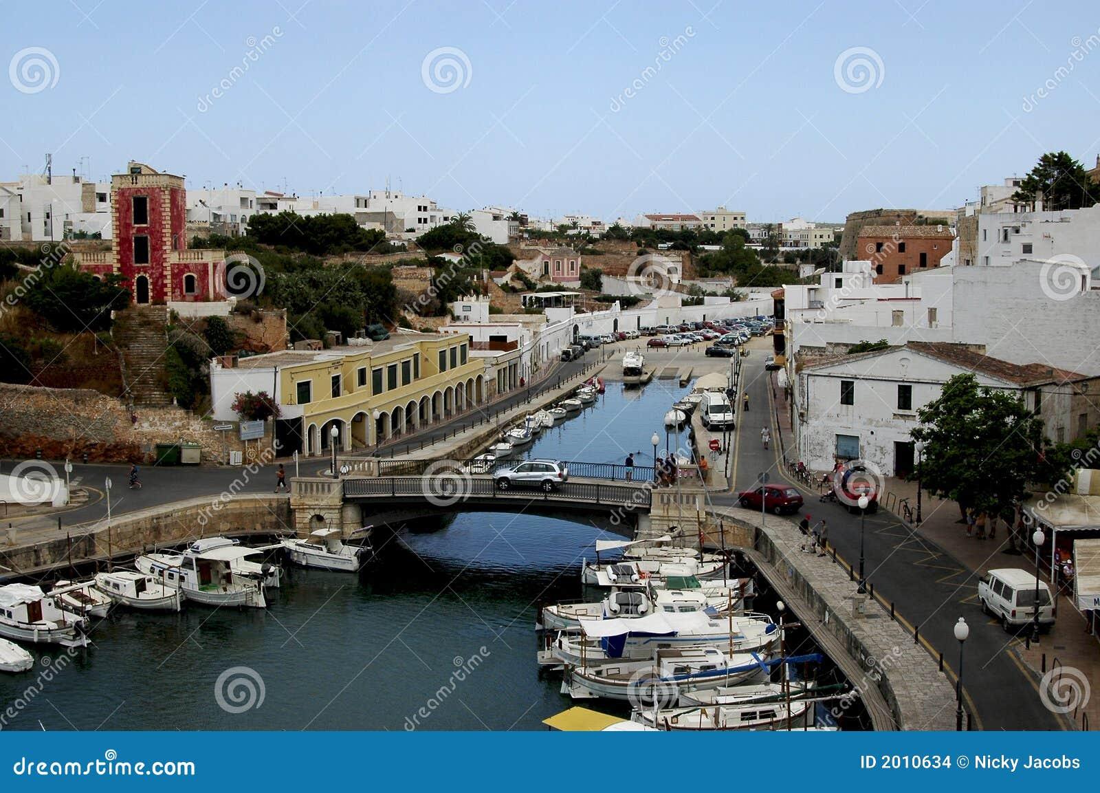 Ciutadella Menorca portuário Spain