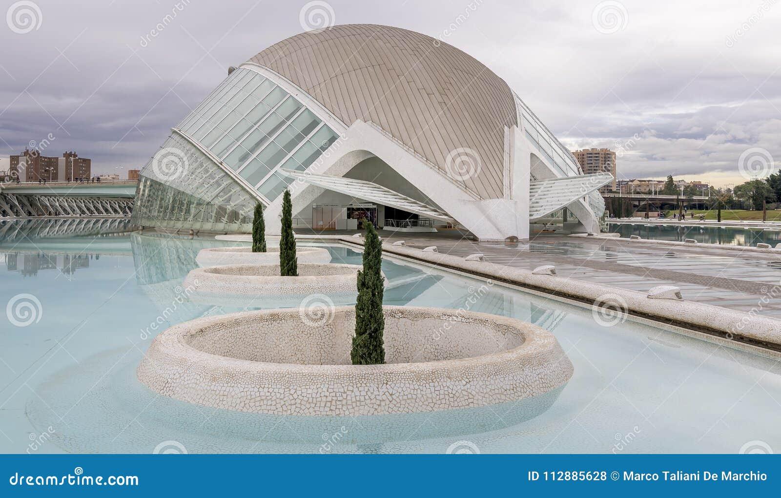 Ciutat de les Arts ι les Ciències, Βαλένθια, Ισπανία