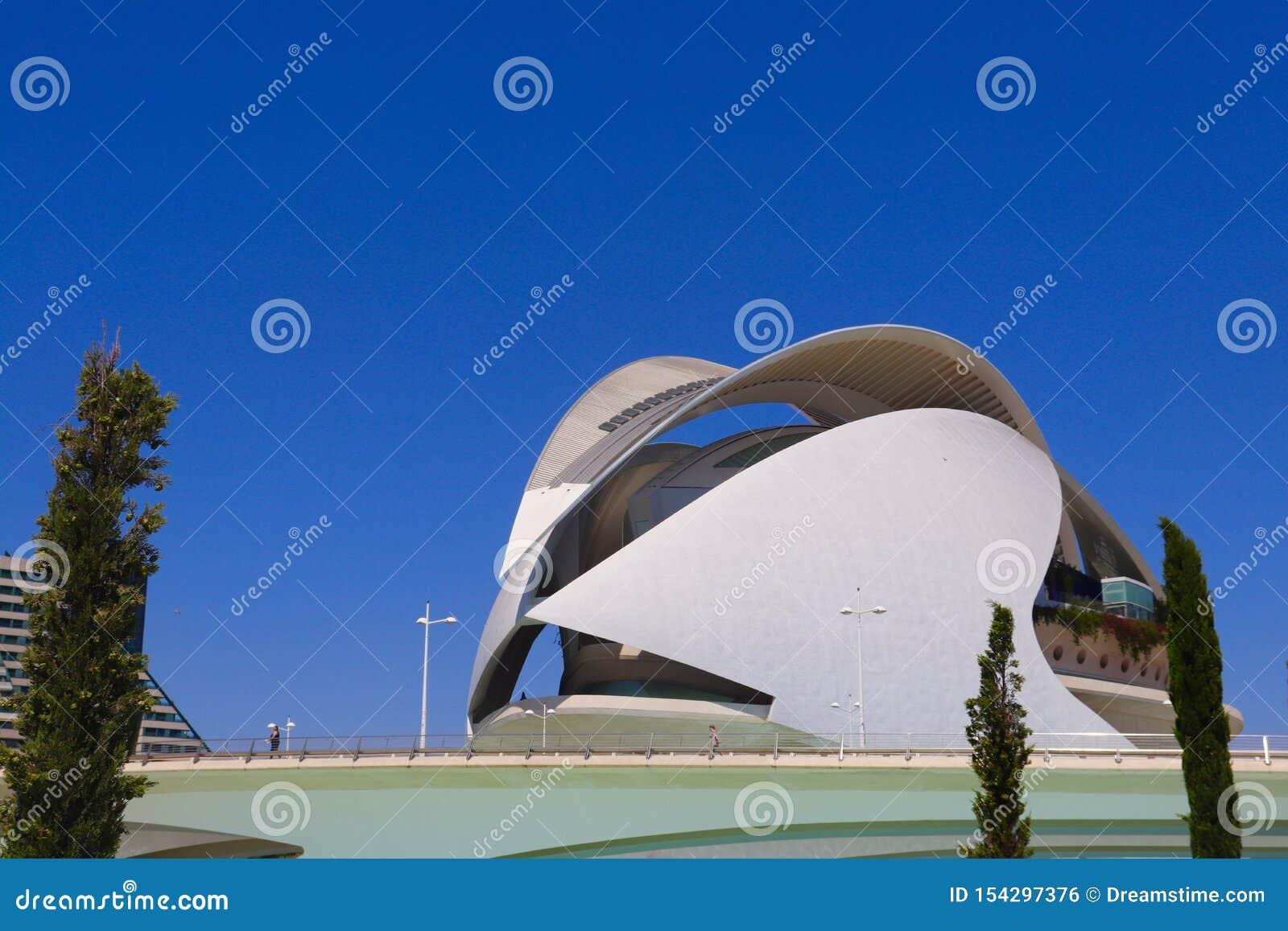 Ciutat de les Arts ι les Ciències - Βαλένθια
