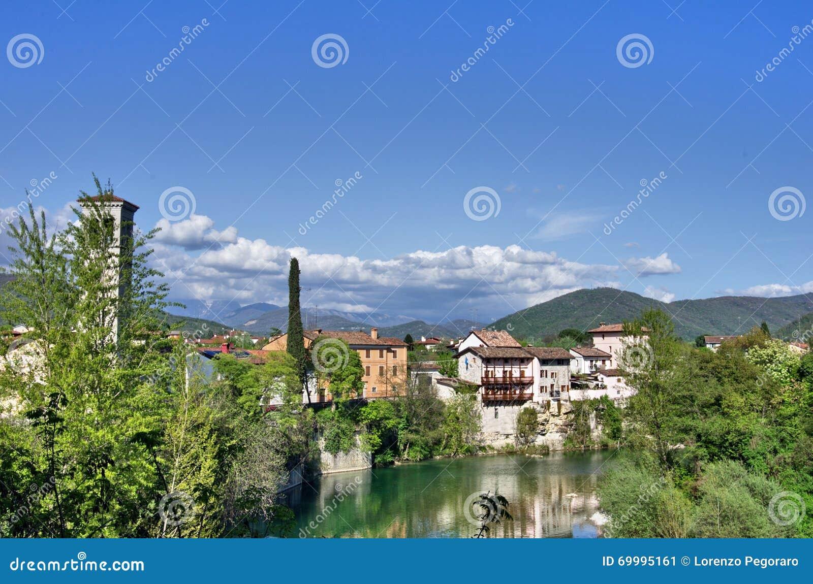 Cividale del Friuli et rivière de Natisone