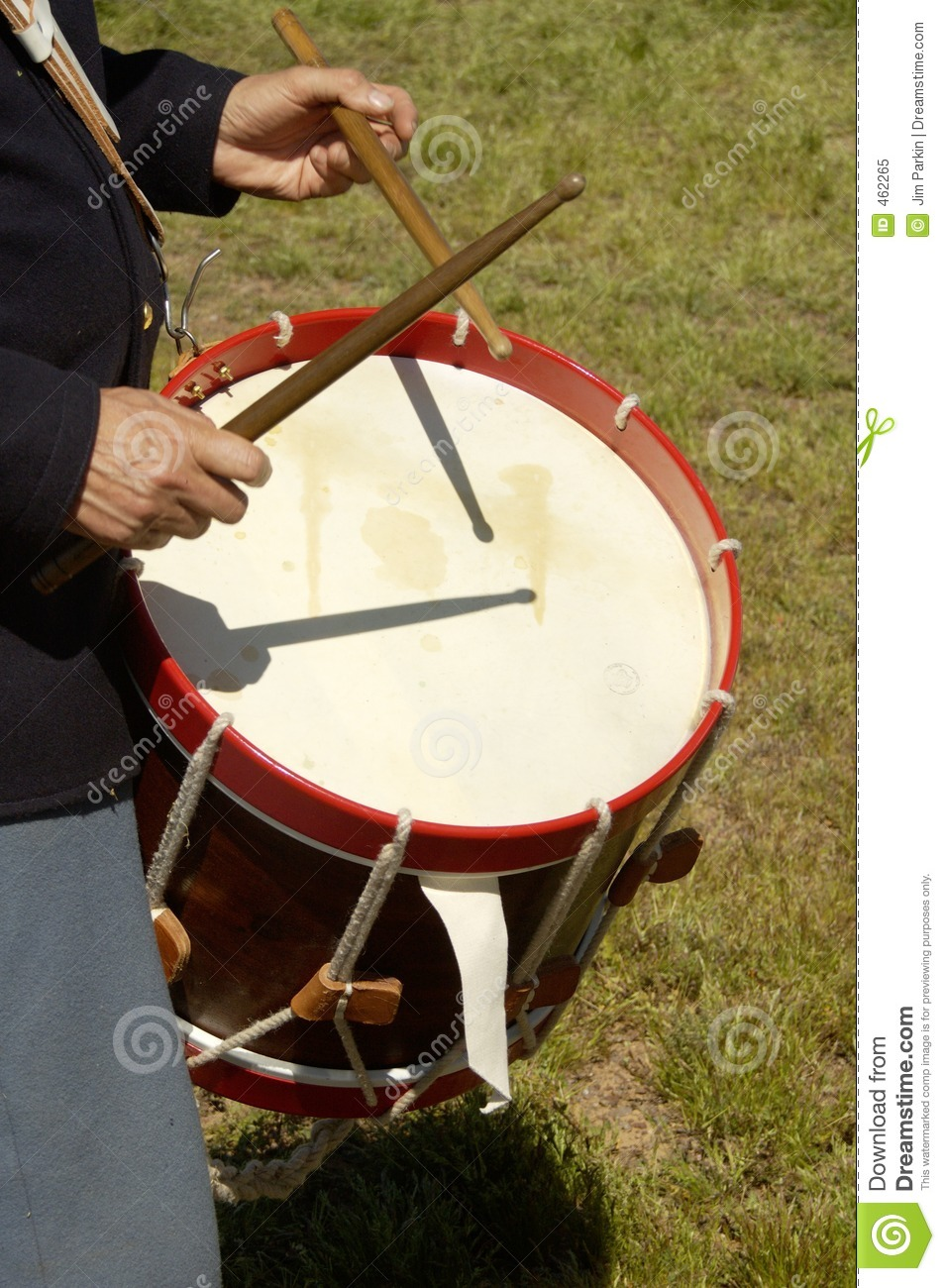 Download Civil war drummer 2 stock image. Image of fighters, desert - 462265