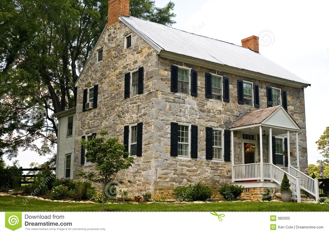 Three Story Home Plans Civil War Stone House 2 Royalty Free Stock Photo Image