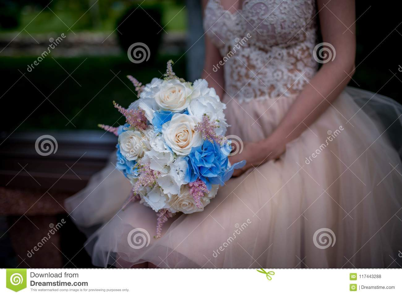 Civil Wedding Bouquet Stock Photo Image Of Lovely Love 117443288