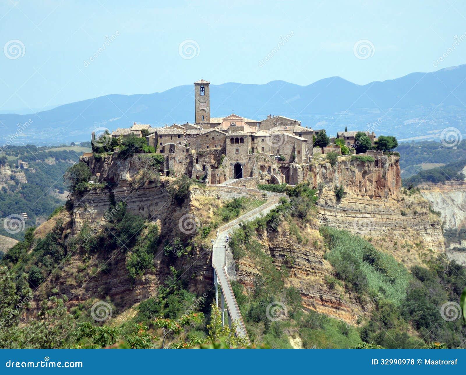 Staré etruské sídlo