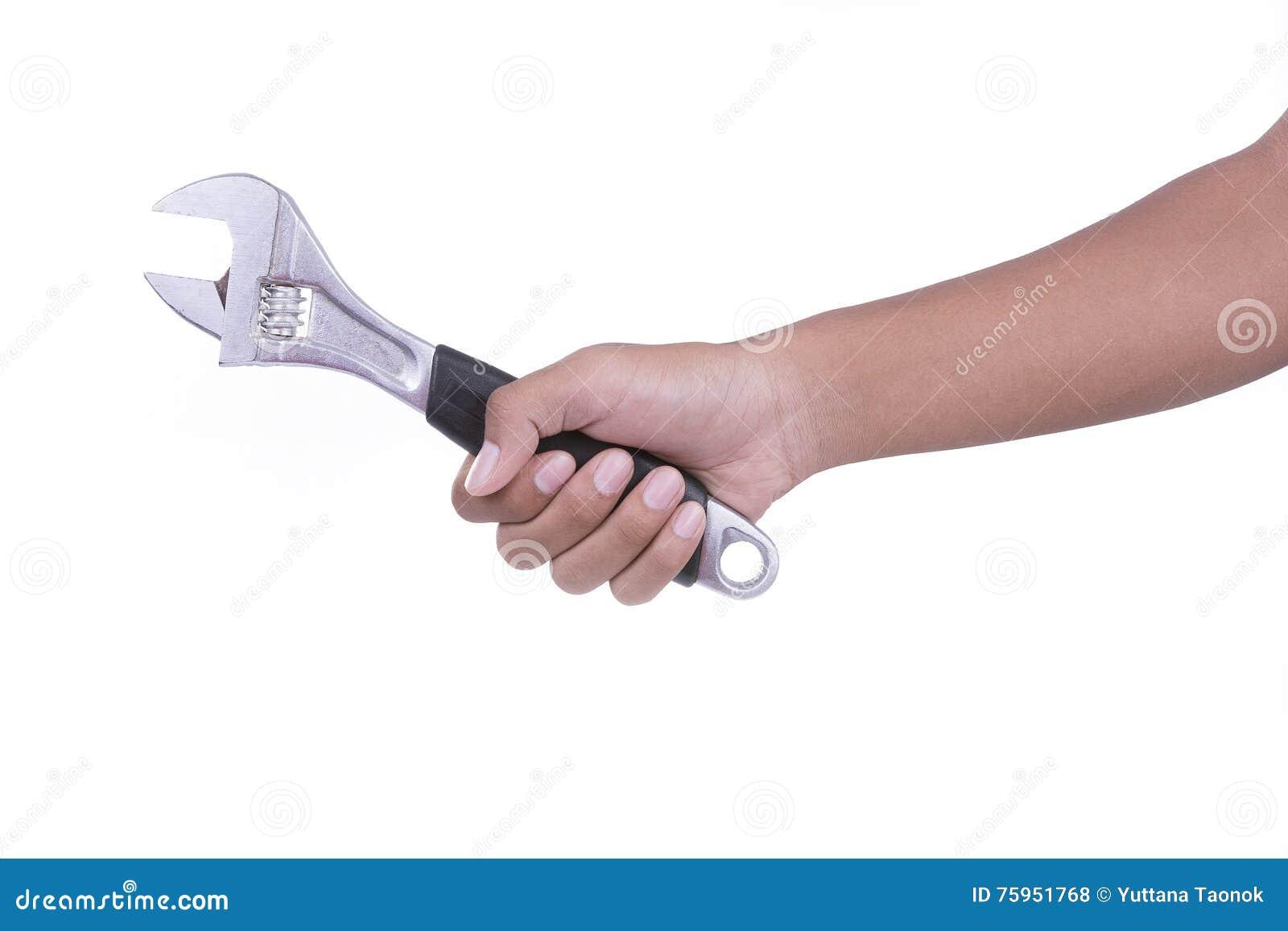 Clé de difficulté de prise de main sur le fond blanc
