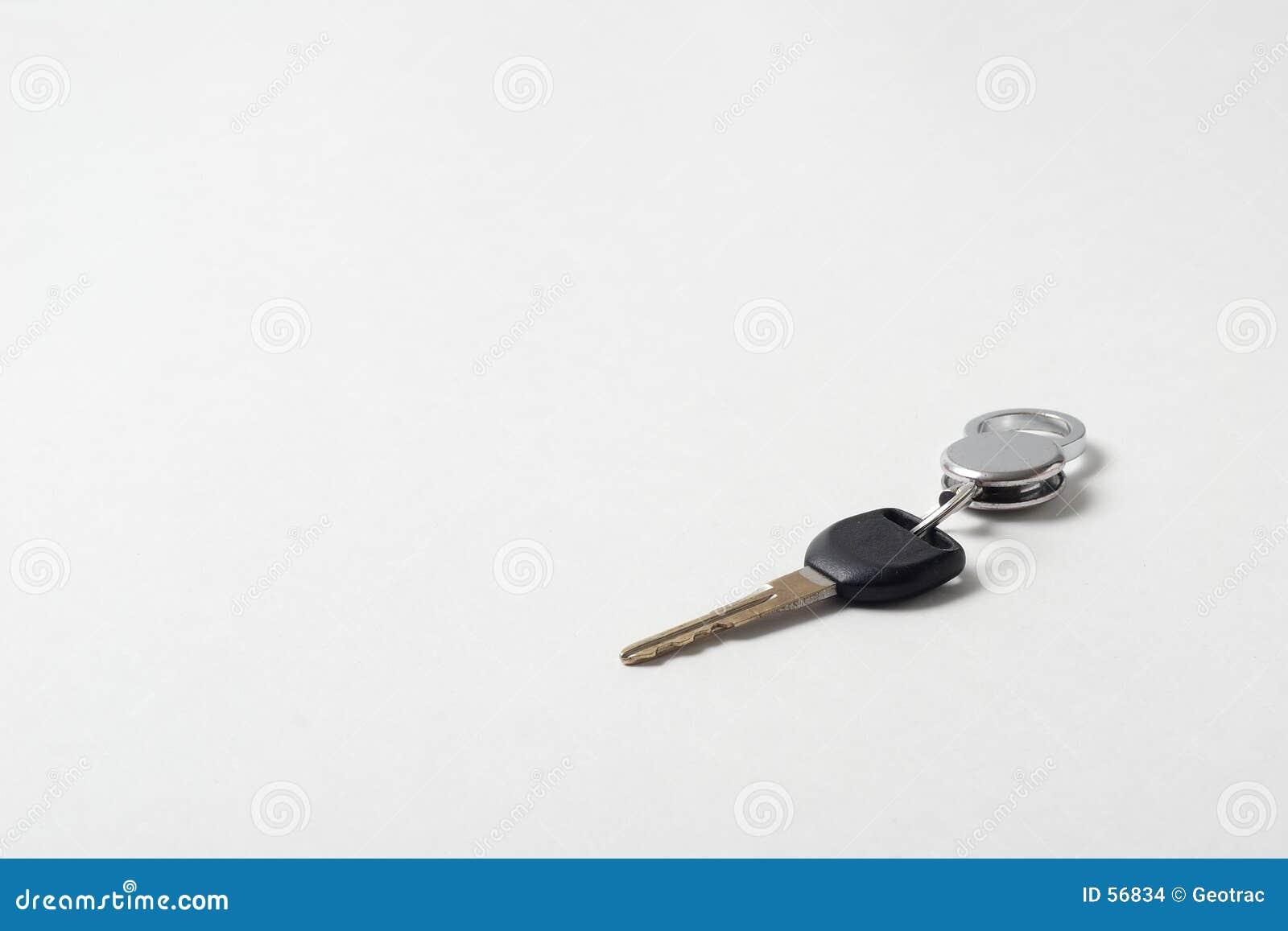 Download Clé de véhicule photo stock. Image du automobile, isolement - 56834
