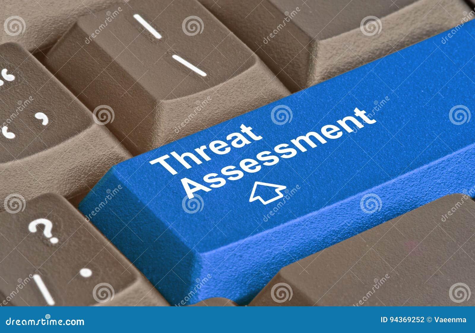 Clé pour l évaluation des menaces