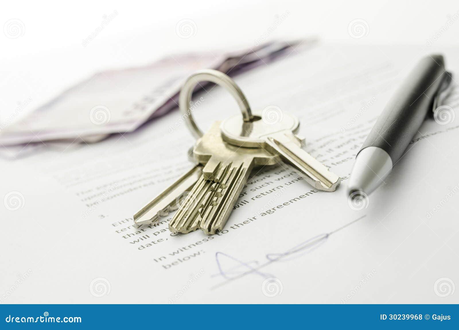 Affaire ferm e d 39 acheter une maison photo stock image du for Nouvelles conceptions et plans de maison