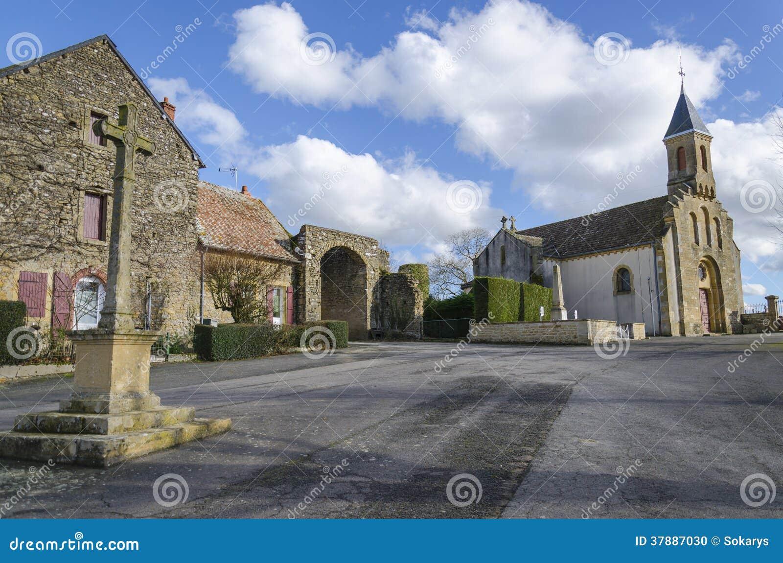 Cléssy教会,伯根地,法国
