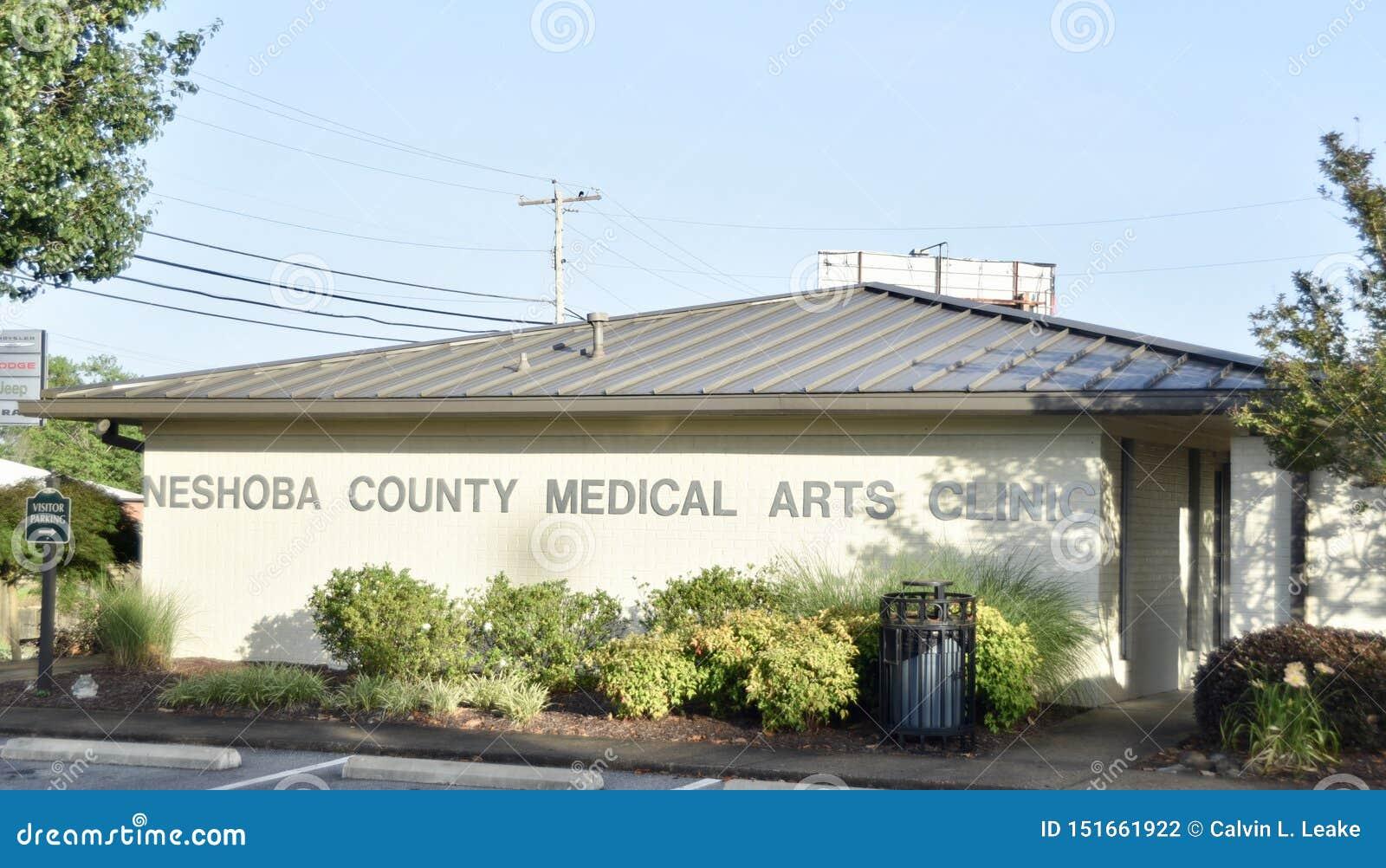 Clínica médica das artes de Neshoba County, Philadelphfia, Mississippi