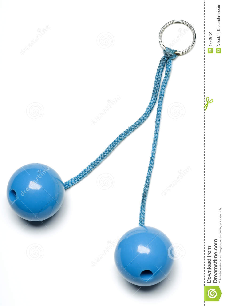Clackers Stock Image Image Of Ring Vintage Isolated