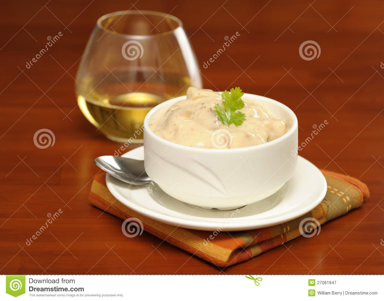 Clam Chowder Royalty Free Stock Photography - Image: 27061947