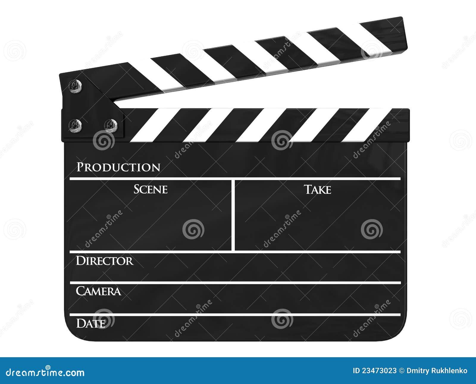 Clapboarden isolerade filmproduktion