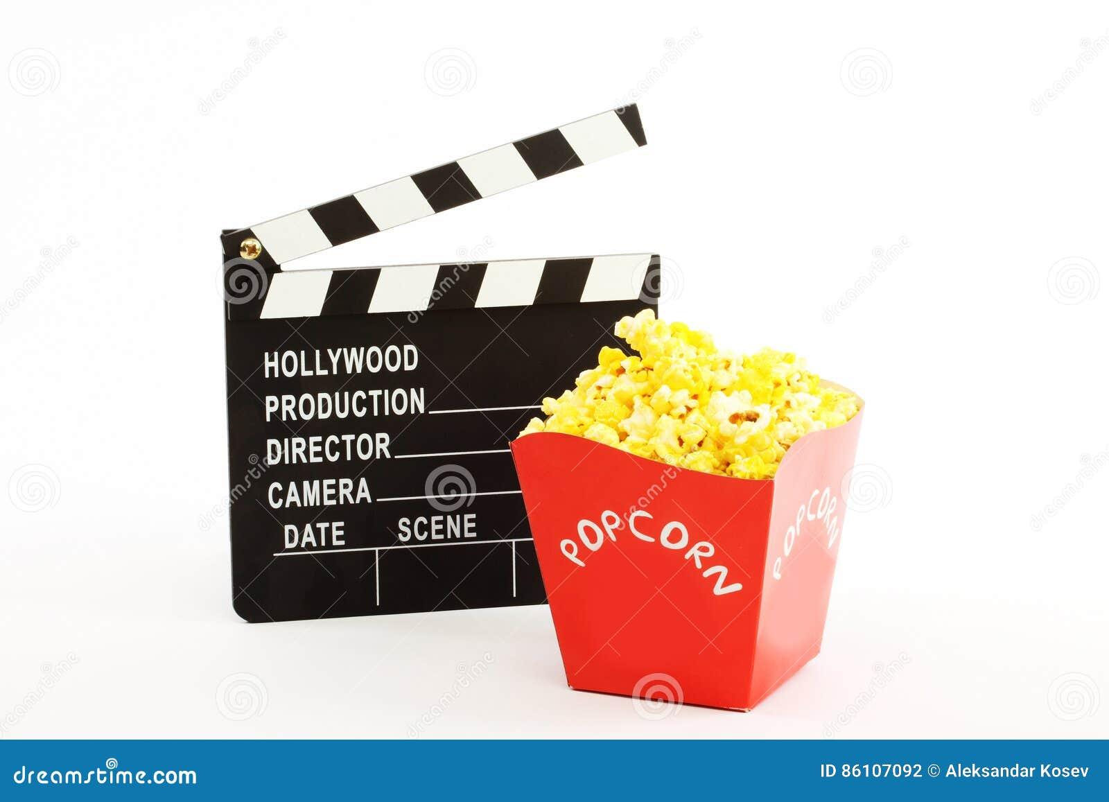 Clapet et popkorn de film