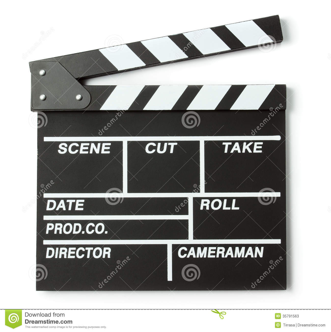 Clapper Board Stock Photos - Image: 35791563