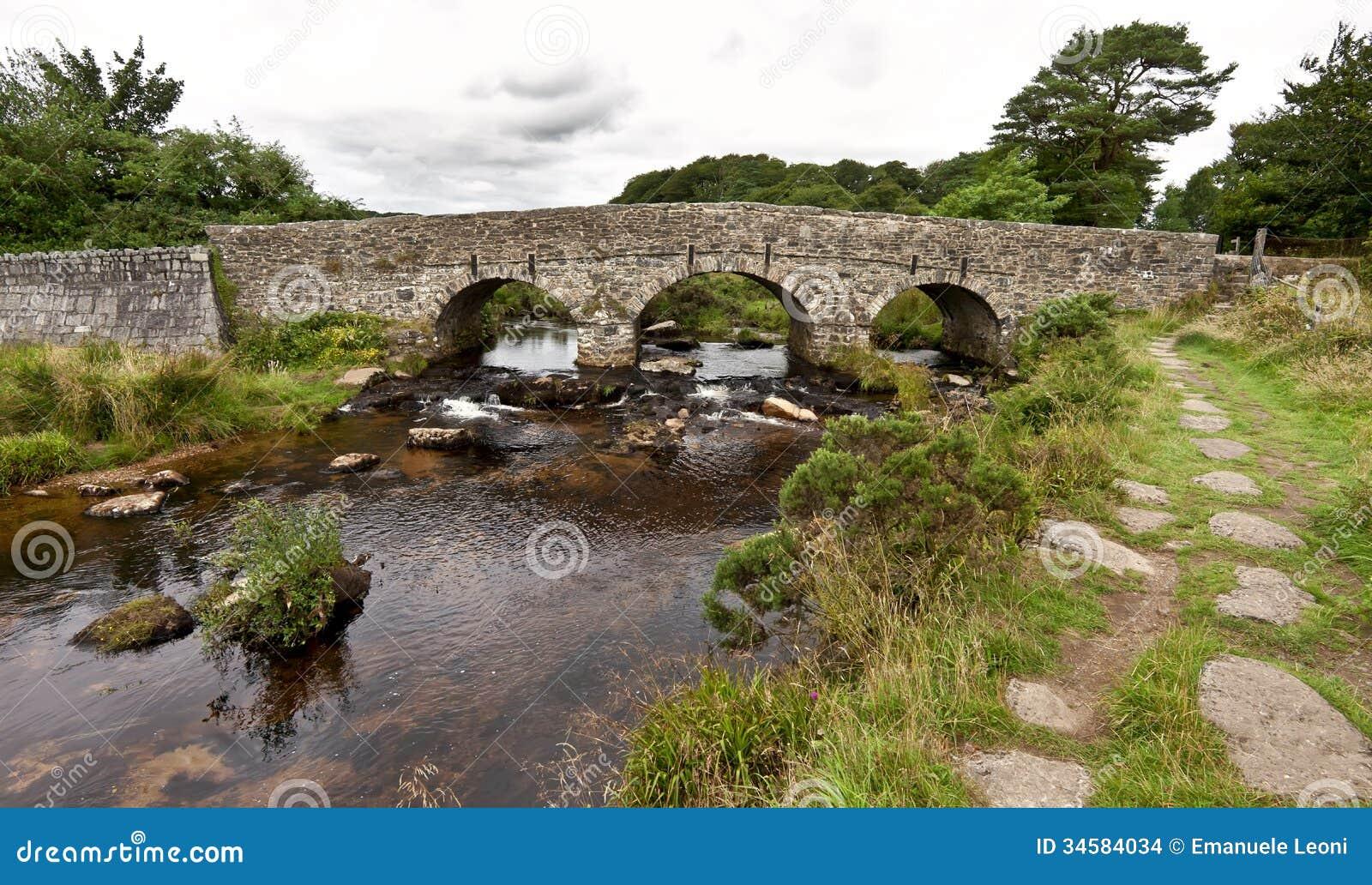 Postbridge United Kingdom  City pictures : ... bridge at Postbridge on Dartmoor in Devon, England, United Kingdom