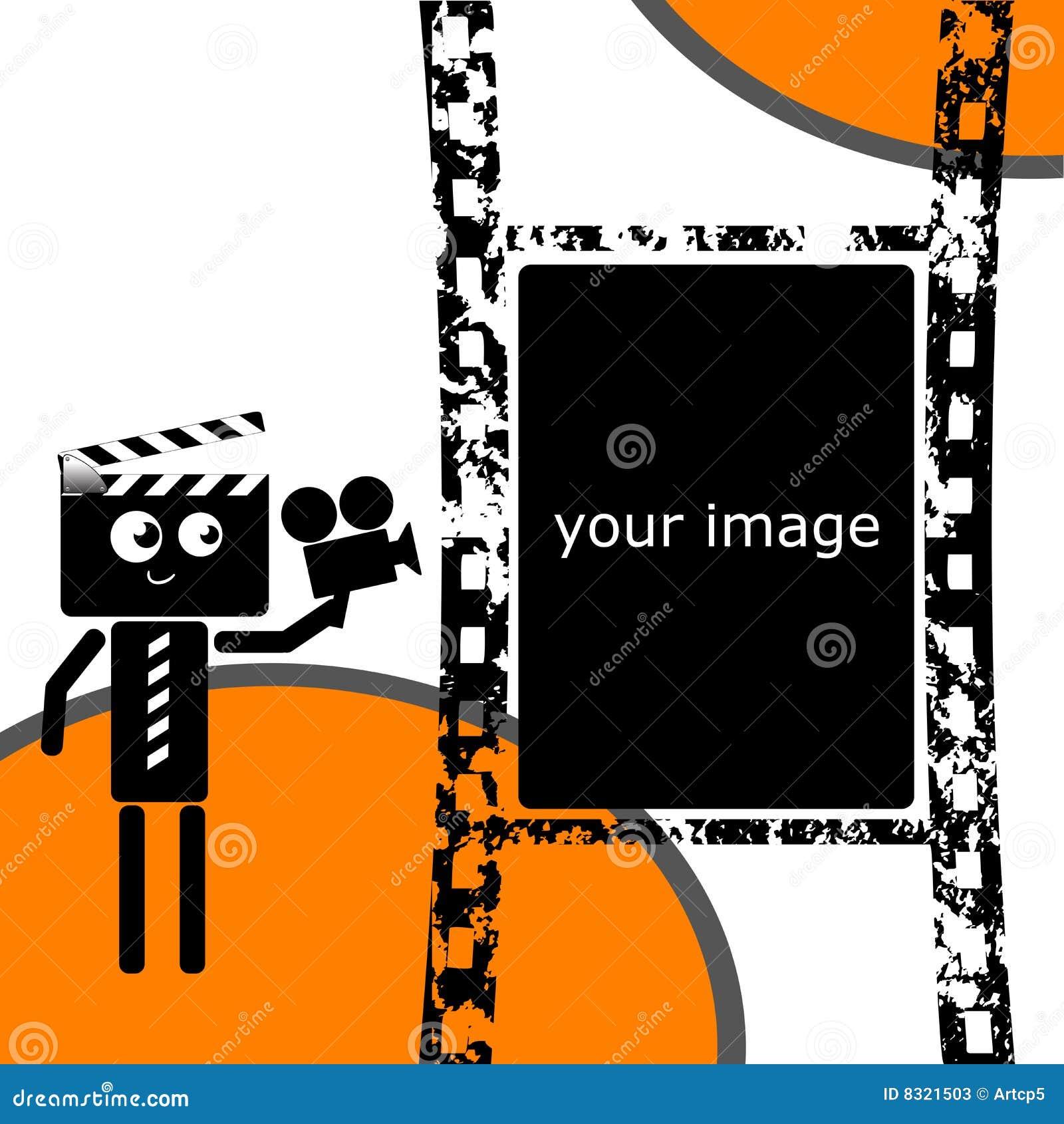 Clapper filmstrip