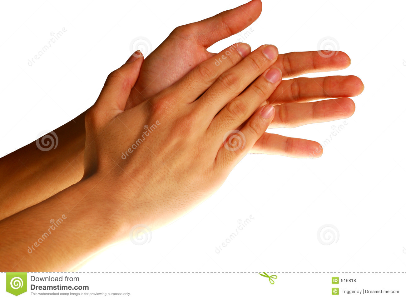 Hands in action - Clapping hands. concept for success, appreciation ...