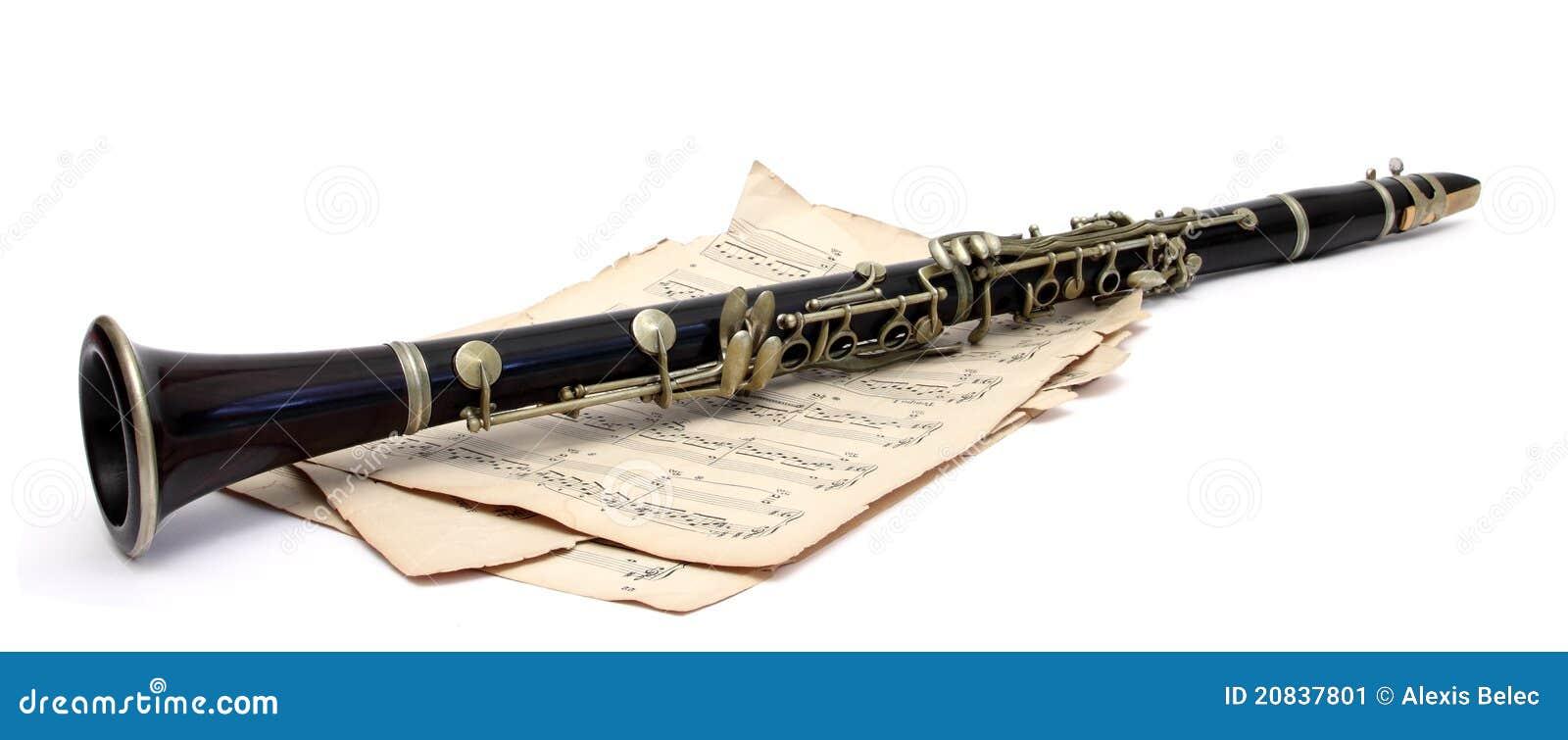 Clarinet antiguo