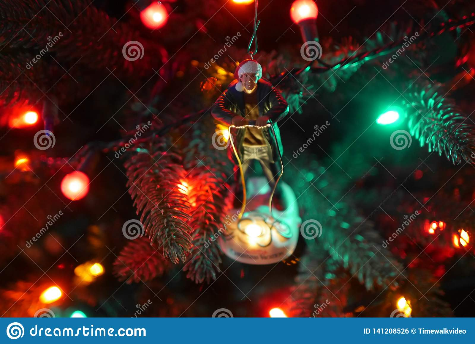Clark W Het Ornament van de Griswoldkerstboom