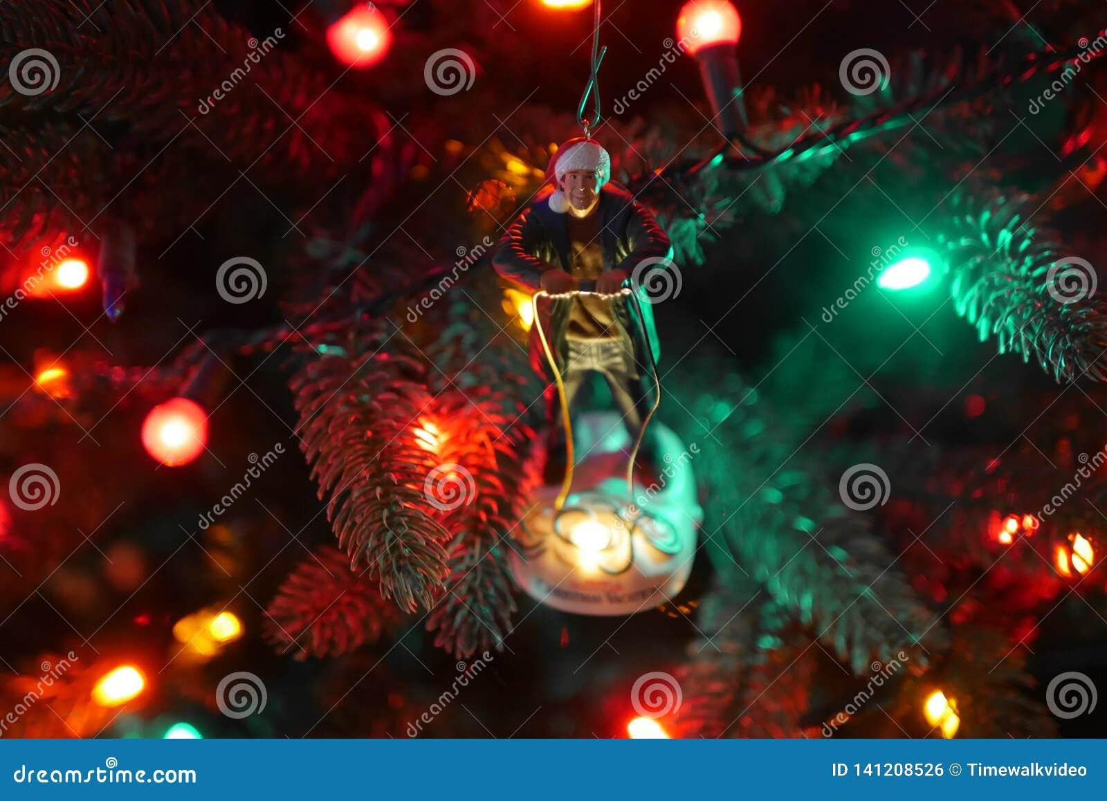 Clark W Ornamento da árvore de Natal de Griswold