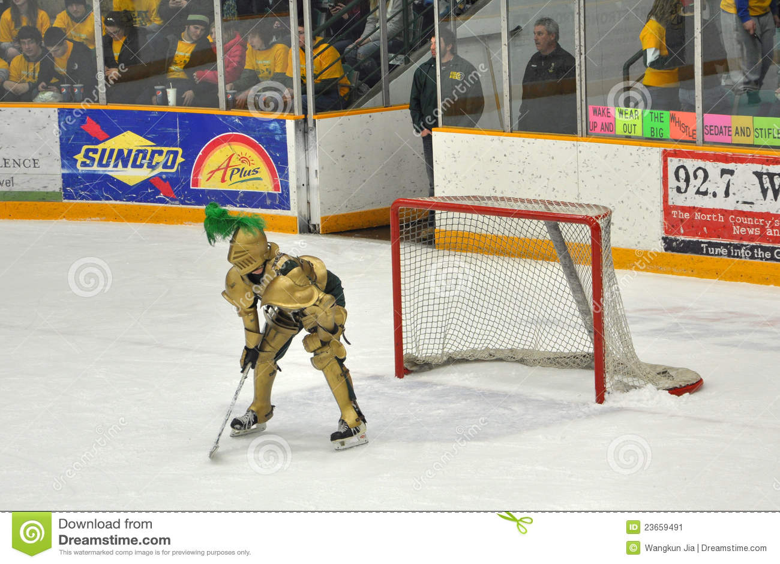 60 Teams, 60 Days] Clarkson Golden Knights : hockey