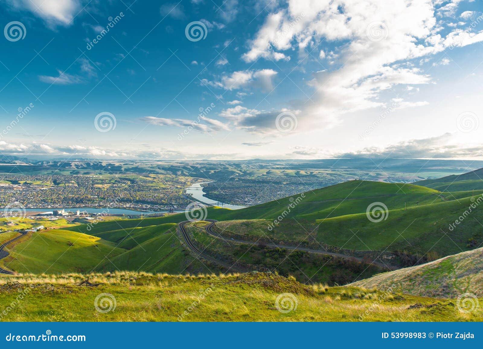 Lewiston (ID) United States  City new picture : Clarkston Washington and Lewiston Idaho Border Cities. United States.