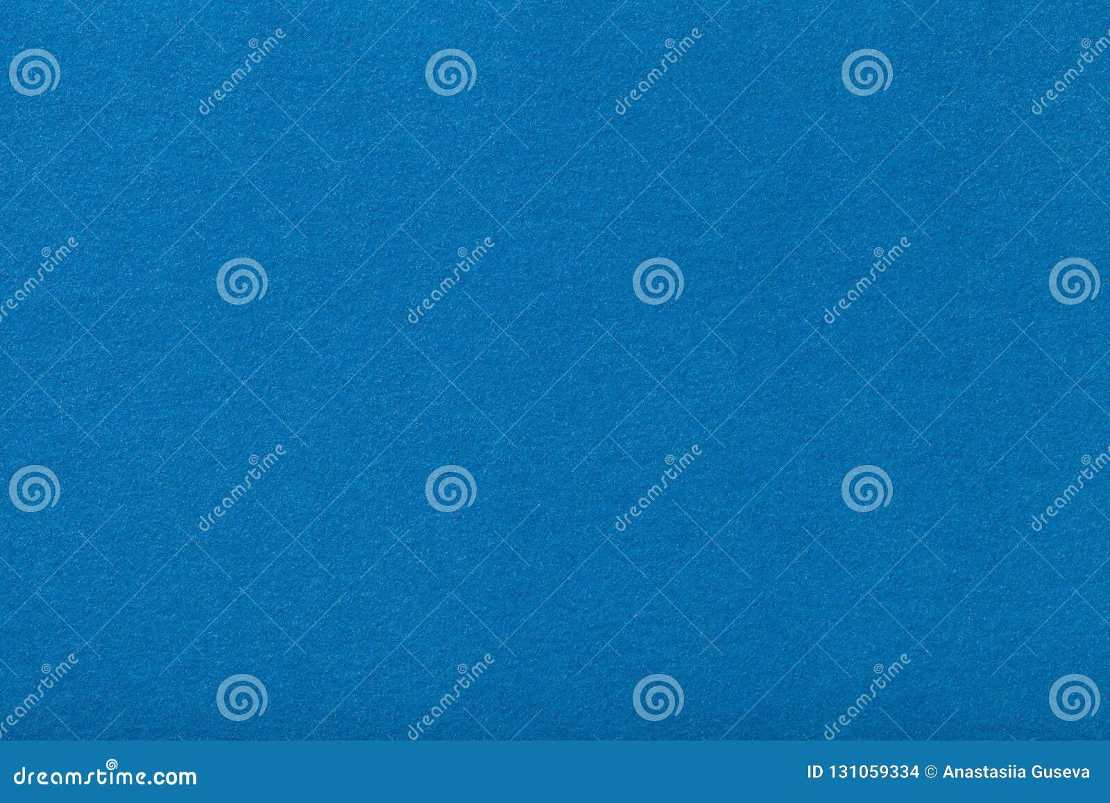 Claro - close up matt azul da tela da camurça Textura de veludo do feltro