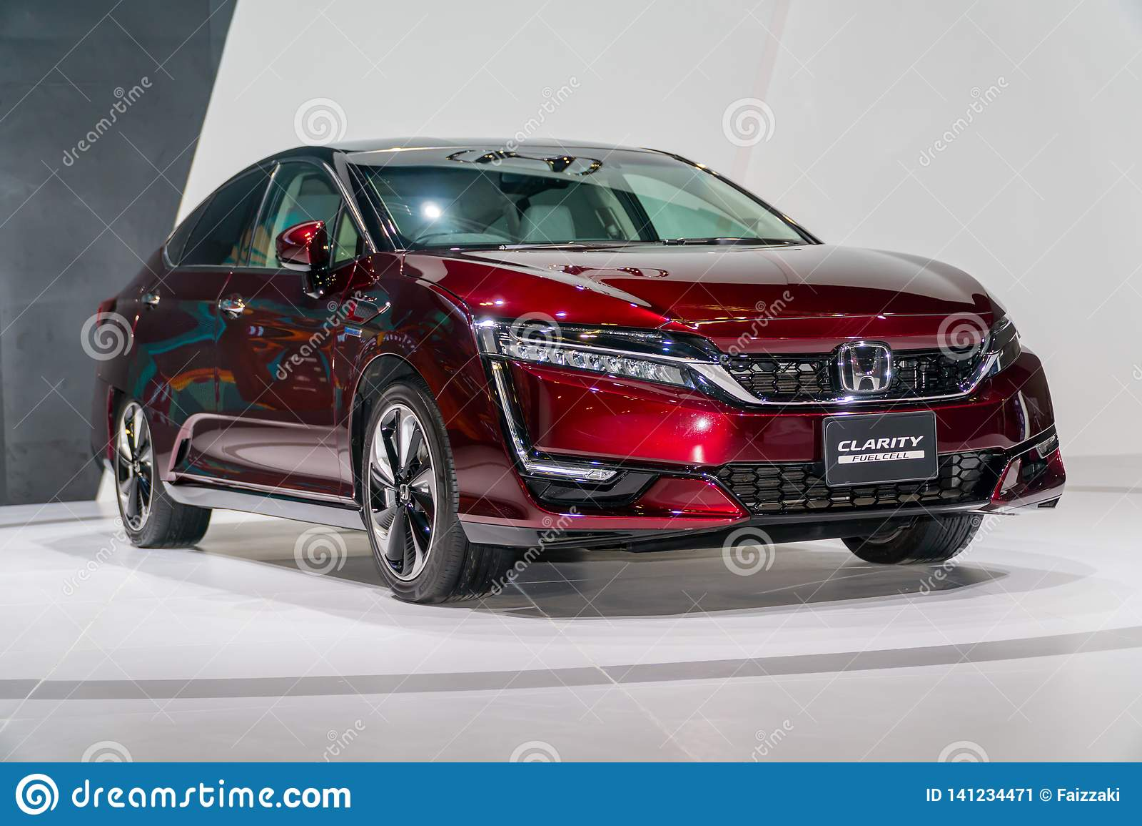 Clarté Fuel Cell de Honda chez Kuala Lumpur Motor Show
