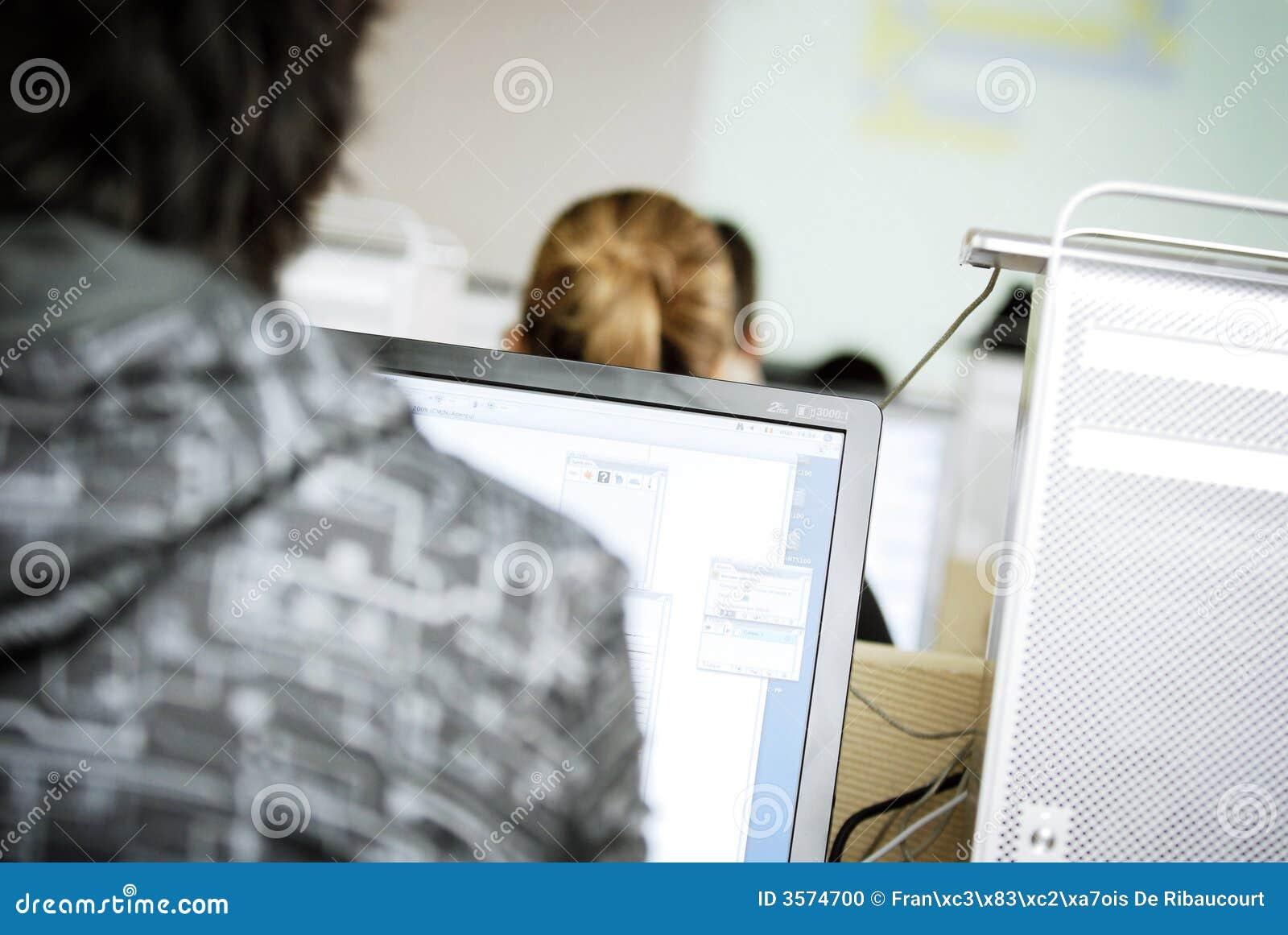 Clase del ordenador en curso