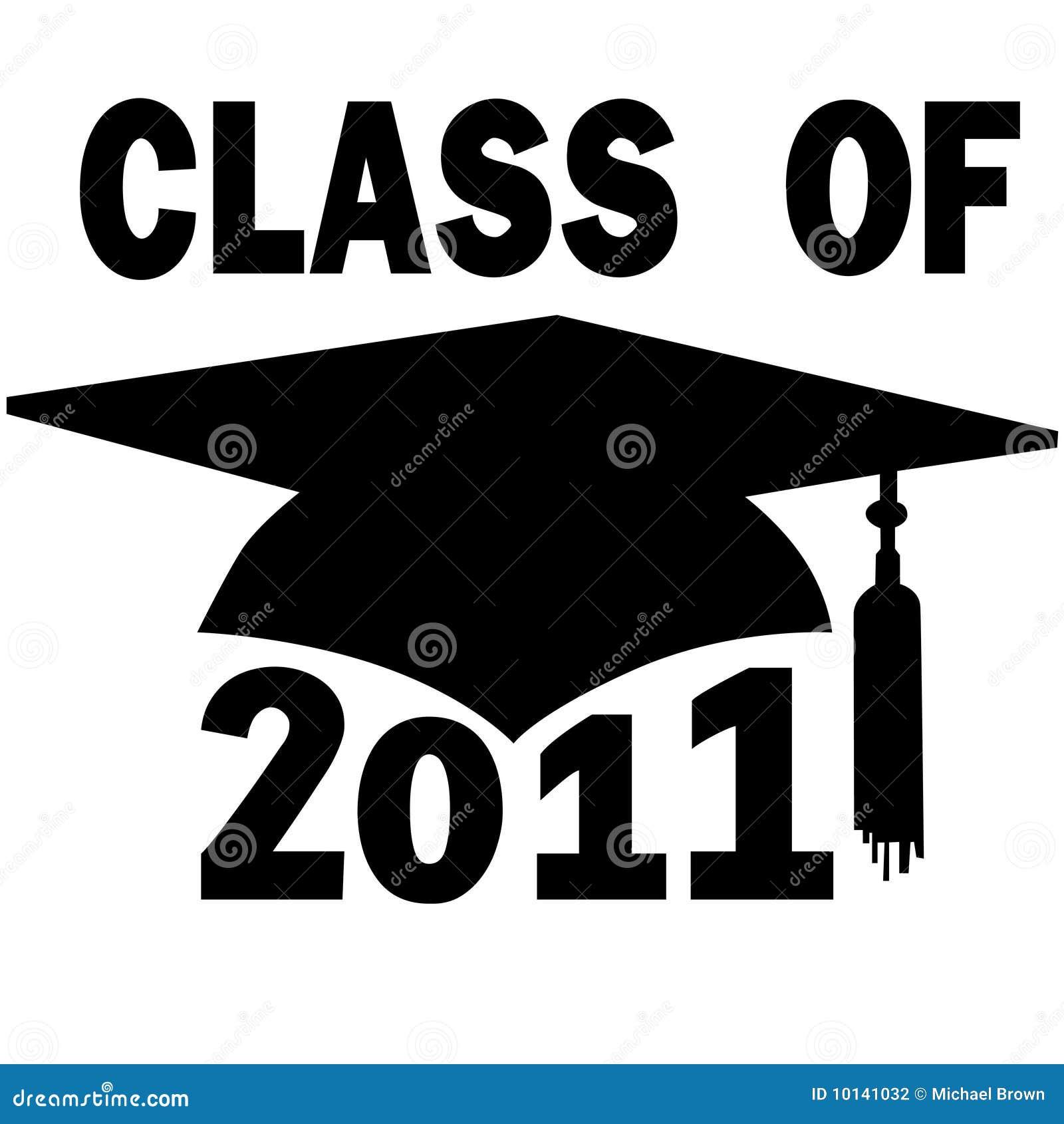 Class Of 2011 College High School Graduation Cap Stock Photography Image 10141032