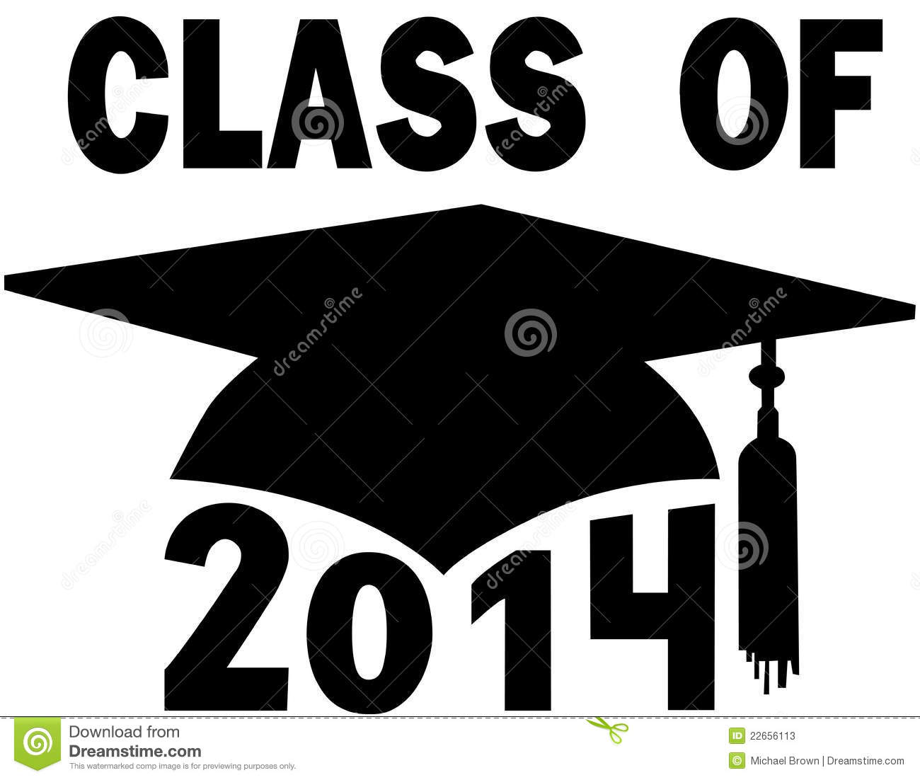 Stock Photos  Class of 2014 College High School Graduation CapGraduation Class Of 2014 Images