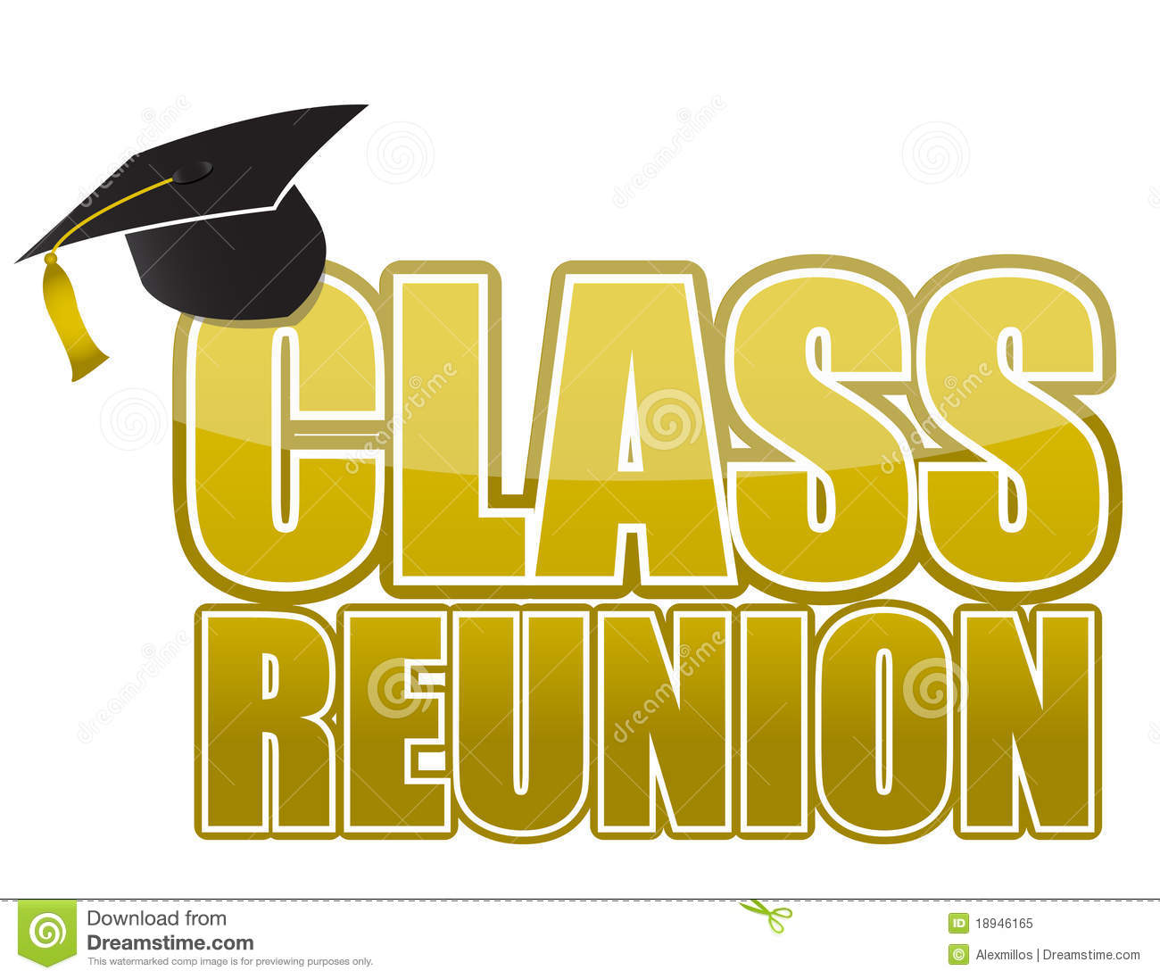 Class Reunion Graduation Cap Royalty Free Stock Photo - Image ...