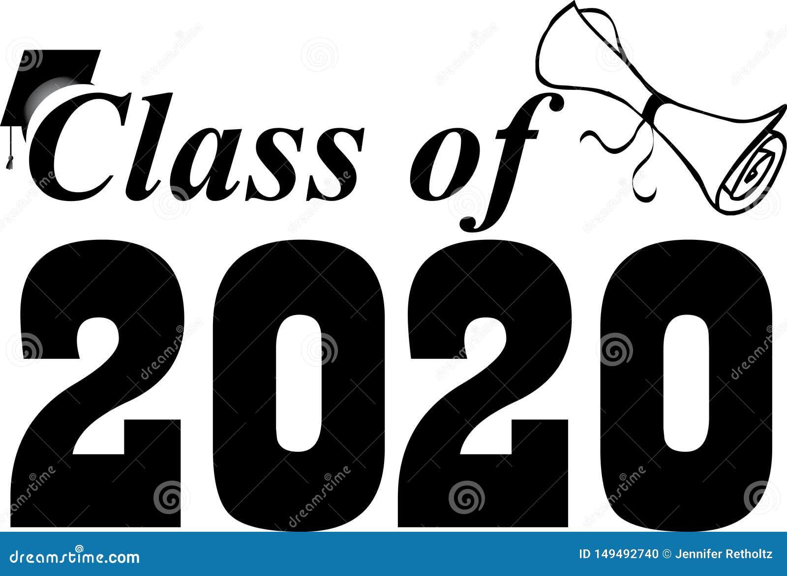Classe da turma de finalistas 2020