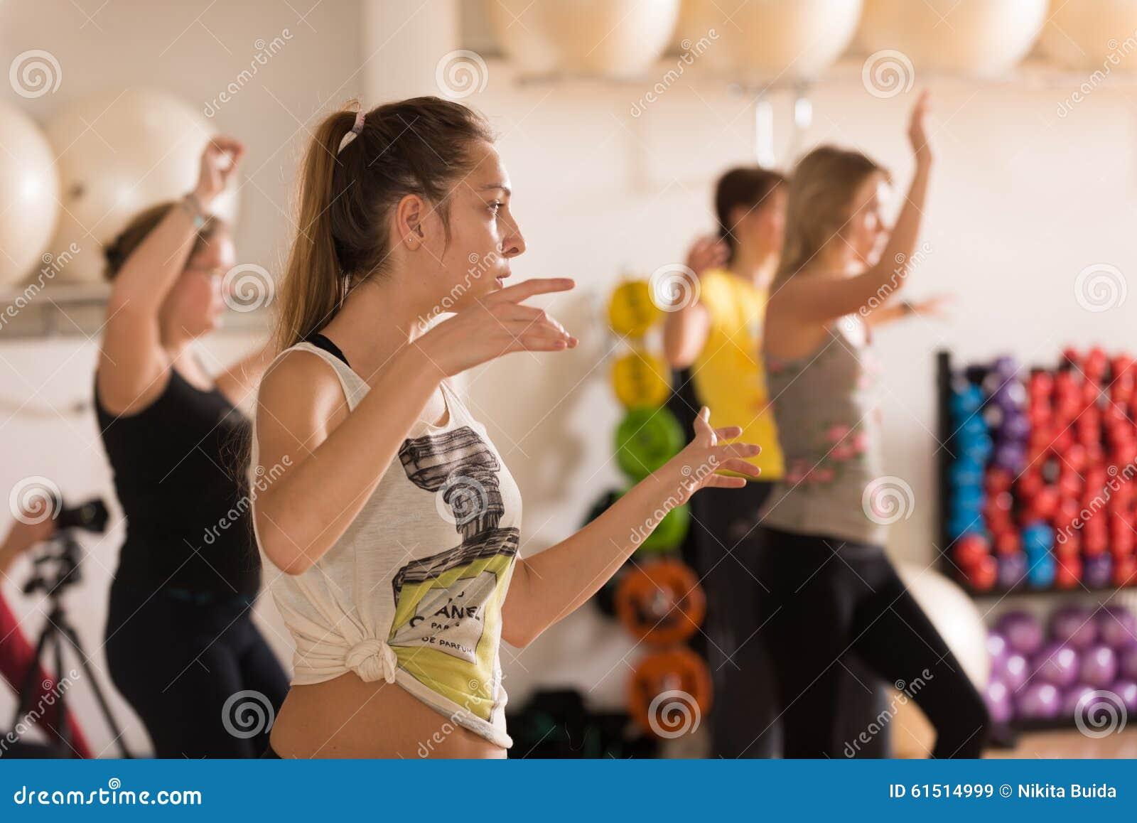 Classe de danse pour des femmes