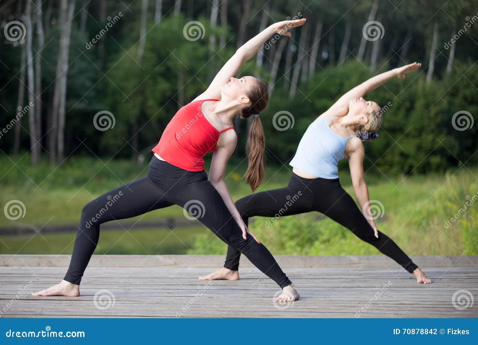 Classe de yoga : Pose inverse de guerrier