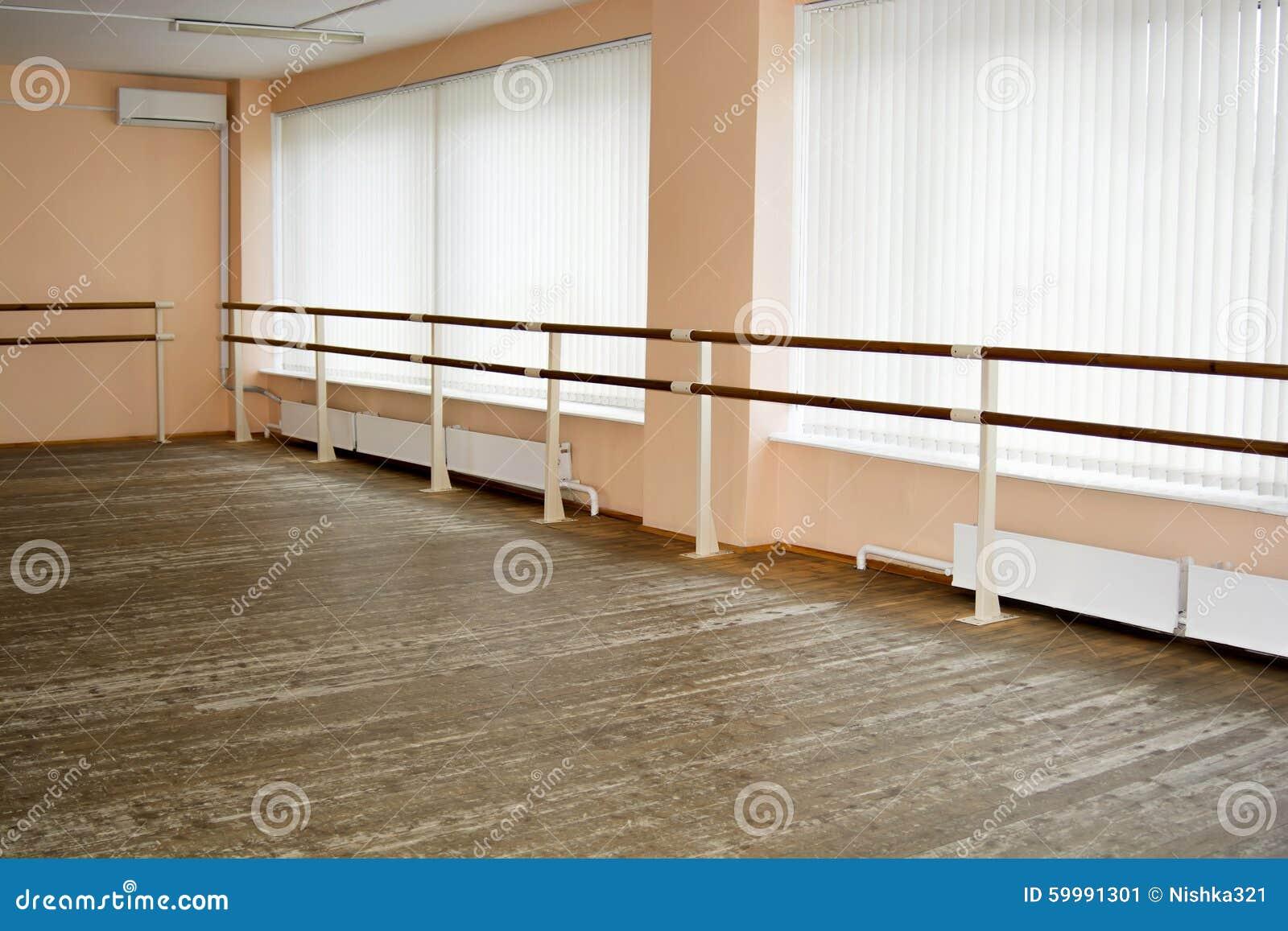 Classe di ballo vuota