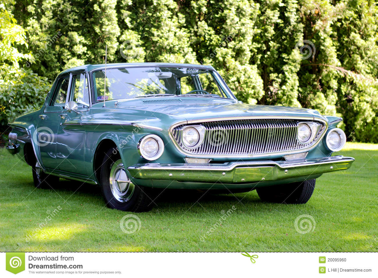 Classic 1962 Dodge Dart Stock Photo Image Of Automobile 20095960