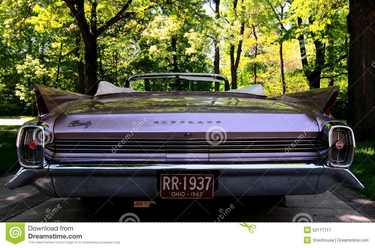 Classic American Car Pink Cadillac Editorial Photography Image - Classic car museums in usa