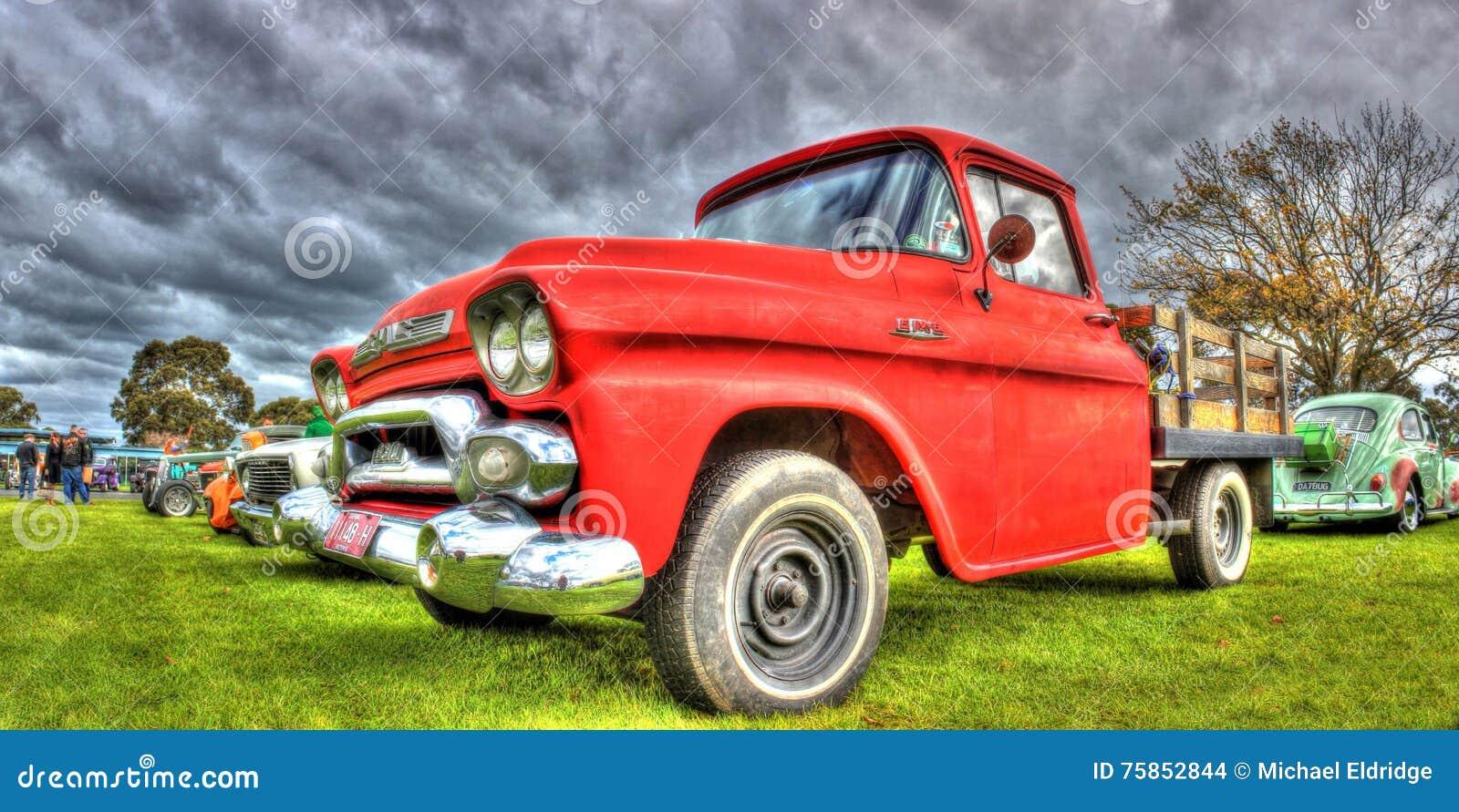 Classic American GMC pickup truck